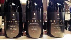 Sean Thackrey's cosmos. A rich, beautiful collection of wines.