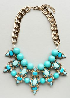 Princess Helen Statement Necklace – Pree Brulee