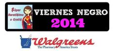Ofertas de Viernes Negro súper baratísimo o gratis en Black Friday Walgreens 2014 #blackfriday
