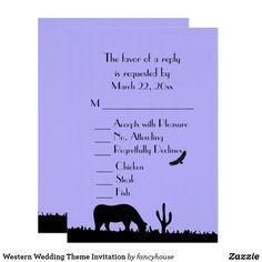 Western Wedding Them
