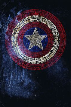 Avengers Typography by Jotunn Blue