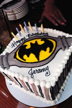 Probably the only BATMAN cake I will be able to make......LOL
