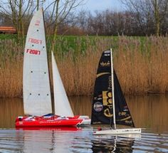 Trimaran-Brossard-2m Radios, Courses, Sailboat, Boats, Model, Sailing Boat, Ships, Sailboats