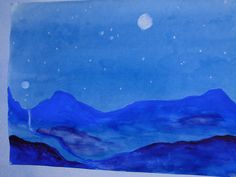7th grade watercolor by eugenewaldorf, via Flickr