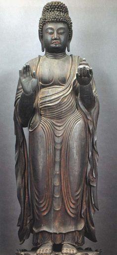 """May I meet this moment fully; may I meet it as a friend."" ~ Syliva Boorstein ॐ lis Japanese Buddhism, Japanese Art, Art Buddha, Buddha Statues, Heian Period, Les Themes, Chakra, Asian Art, Mandala"