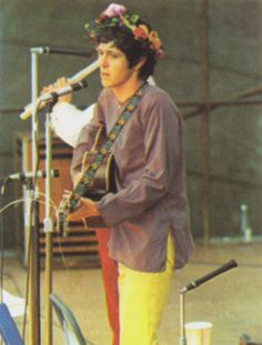 """Donovan, Prince of Flower Power """"Happiness runs in a circular motion Thought is like a little boat upon the sea Everybody is a part of everything anyway You can have everything if you let yourself be..."""""""