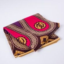 Fuchsia+Large-Scale+Waxed+Cotton+African+Print+with+additional+Inlaid+Print