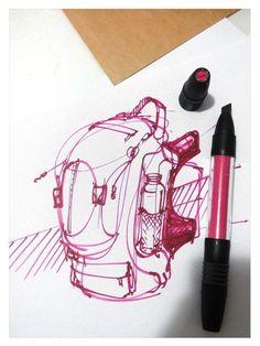 Chou-Tac Chung //  // #art #sketchbook #challenge #marker #coffee #break CoffeeDoseBox