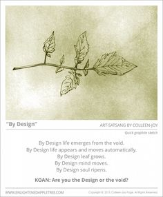 ART SATSANG: By Design, Quick Sketch, by Colleen-Joy