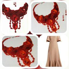 Crochet Necklace, Shop My, Crop Tops, Handmade, Shopping, Jewelry, Women, Fashion, Crochet Collar