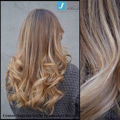 Biondi,sani,lunghi,pieni di vita sono così i capelli colorati con il #degradè