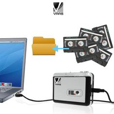New Vaas Tape to Digital USB Converter and Battery Powered Cassette Player - $12.99. https://www.tanga.com/deals/dd42e6e652/new-vaas-tape-to-digital-usb-converter-and-battery-powered-cassette-player