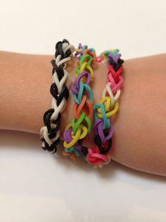Rubberband Bracelet  - rainbow loom