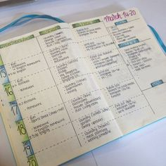 I love the coloring on this one - bullet journal