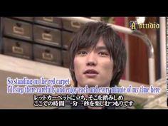 Sota Fukushi - A Studio (Part 1), talk show, Nov. 2014