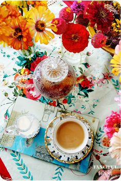 tea time aFancifulTwist.com