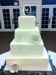 Beautiful weeding cake