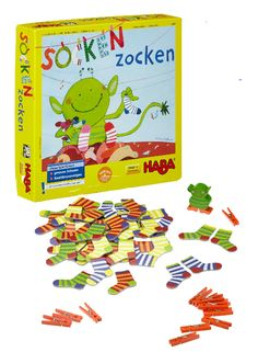 Socken Rocken - (Ages 4-99, 2-6 players) - Helpful reviews for the best family…