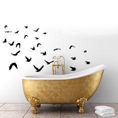 Vinilo Adhesivo Pájaros