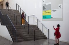 London College of Communication by Pentagram #grafica #design #segnaletica