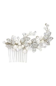 Brides & Hairpins 'Catherine' Jeweled Hair Comb available at #Nordstrom