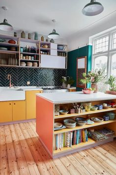 Interior Exterior, Kitchen Interior, Kitchen Design, Interior Design, Kitchen Furniture, Old Kitchen, Diner Kitchen, Kitchen Retro, Kitchen Office