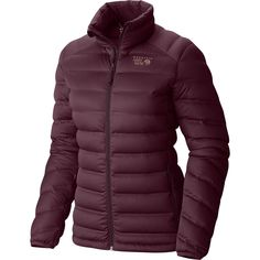 Mountain Hardwear Stretchdown Down Jacket Purple Plum M