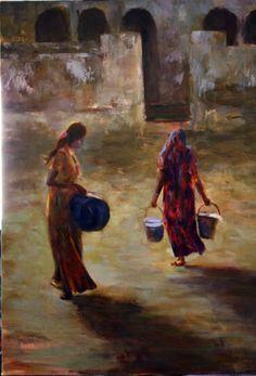 Mujeres y cubos