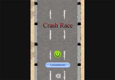 Crash race Jogo – A pista está esperando por você. Resistir ao teste de estrada.