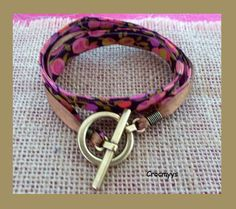 Bracelet liberty wiltshire rose double tour : Bracelet par crocmyys