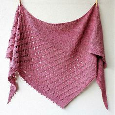 Childhood Memories pattern by Lisa Hannes - Needlework ~ Knitting > Scarfs, Cowls, Ponchos, Shawls, ect - Knitting Ideas Knit Or Crochet, Lace Knitting, Crochet Shawl, Knitting Stitches, Knitting Patterns, Knitting Projects, Crochet Bikini, Knitted Poncho, Sewing Projects
