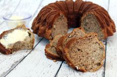 Find out why Great Grandma's Best Banana Bread Recipe won a blue ribbon. Better yet, make it yourself - we bet you'll never use another banana bread recipe again! Pecan Recipes, Banana Bread Recipes, Dessert Recipes, Breakfast Recipes, Banana Bread Recipe With Crisco, Recipes Dinner, Healthy Recipes, Quorn Recipes, Breakfast Pastries