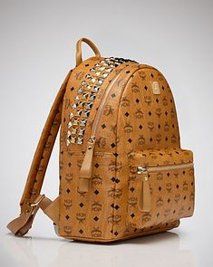 MCM Backpack - Stark Medium - Premium Designers - Boutiques - Handbags - Bloomingdale's