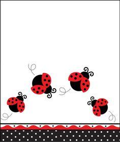 Hola te espero este sábado en casa . Para que me acompañes a celebrar mi cumpleaños Baby Ladybug, Ladybug Party, Cute Clipart, Clipart Png, Ladybug Crafts, Class Decoration, Borders And Frames, Love Bugs, Baby Scrapbook
