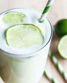 Brazilian-Lemonade - Im substituting coconut milk for sweetened condensed milk here #best recipe to try
