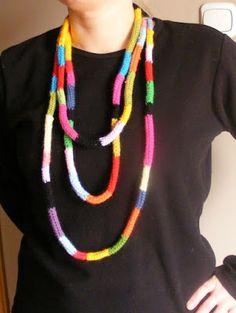 simple crochet jewerly