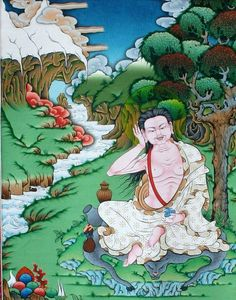 Considering all misery of samsara and of lower realms, my devotion and perseverance do not seem great. Thoughtful people who accept the Great Law of cause and effect are capable of such perseverance. Those who do not believe in the Dharma have little understanding and are incapable of abandoning the eight worldly reactions. That is why it is important to believe in the law of karma.... The foundation of all Dharma practice lies in belief in the Law of Karma.   -- Milarepa