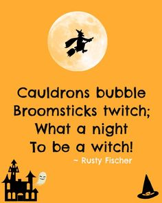 Oh, what a fright... A Halloween poem