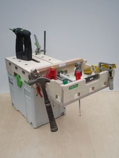 T-systand, T-loc systainer top-workbench