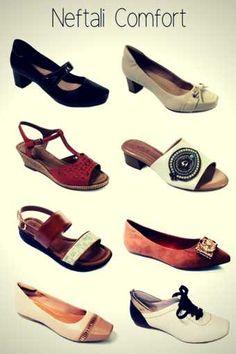 0cb028ead Marca de Calçados Confortáveis Femininos Neftali Comfort Calçados Femininos  Confortáveis, Marcas De Calçados, Sapatos