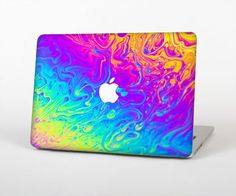 """The Neon Color Fushion V2 Skin Set for the Apple MacBook Pro 13"""" with Retina Display"""