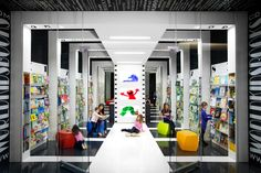 World Kids Books store by Red Box ID, Vancouver   Canada store design