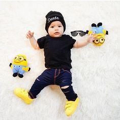 """So Cute ✨ stay swag @dantesubiadinata #trendy #feature #follow #shoutout #style #stylish #kidstyle #kidfashion #fashion #cute #tagsforlikes…"""