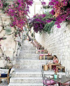 Stairway to heaven  ~ Hvar Island, Croatia Phot