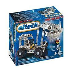 Eitech C68 - Ponad 100 elementowych Zestaw Koparka Ciężarówka 8+ do Skręcania