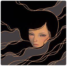 """into"" | audrey kawasaki .: . Midnight Reverie ."