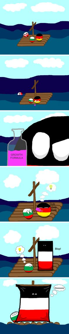 Shipwrecked and Stranded | Polandball Comics