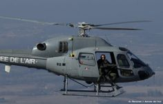 French Armée de l'Air Eurocopter AS-555 Fennec (formerly Aérospatiale AS-350) from Orange airbase, during air defence exercise March 18, 2014.