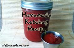 My kids love ketchup and I don't love the ingredients in store-bough versions, so we make this simple and delicious recipe.