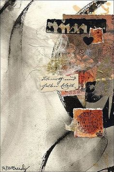 truesearch:  (via Pin by Renate Starke-Krammer on collage, journals, mixed media, paint…)